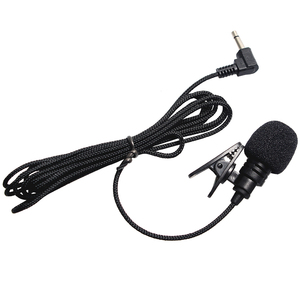Image 2 - 3.5mm Jack Lavalier Microphone Mini Portable Microphone Universial Clip On for Lecture Teaching Conference Guide Studio Mic