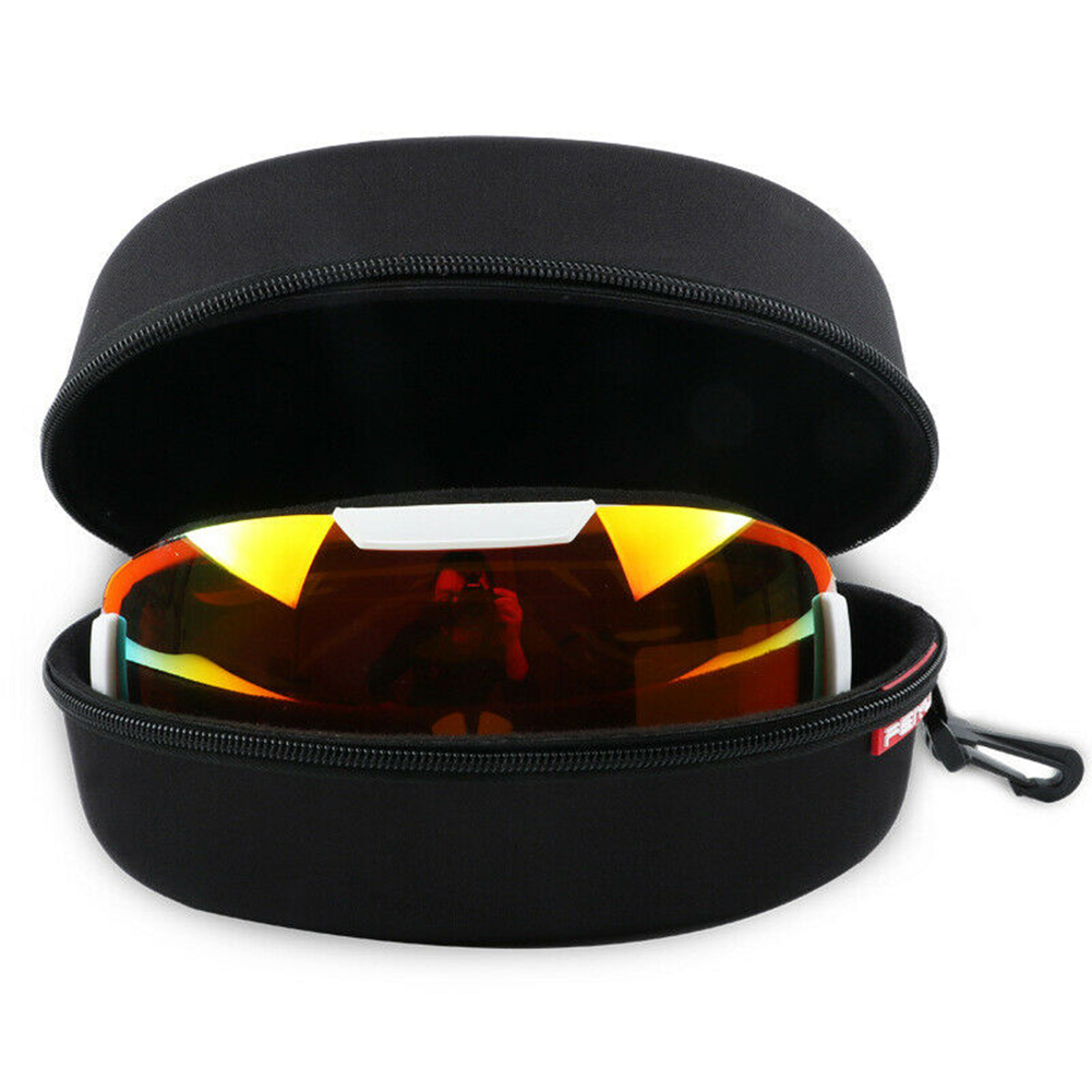 Travel Snowboard Ski Goggles Protector Zipper Hard Case Winter Snow Outdoor Skiing Sport Glasses EVA Storage Eyewear Box