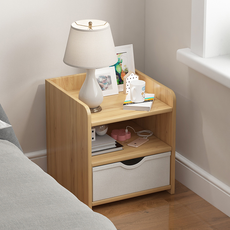 Table Simple Modern Bedroom Bedside Small Cabinet Northern Europe Simple Small Mini Storage Cabinet Storage Cabinet
