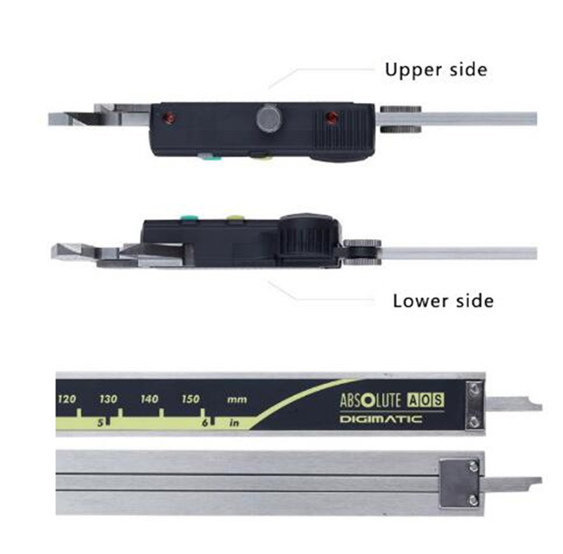 200mm//8/'/' 500-196-20//30 Vernier Caliper LCD Absolute Digital Digimatic Gauge
