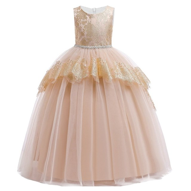 Flower Princess Party Dress...