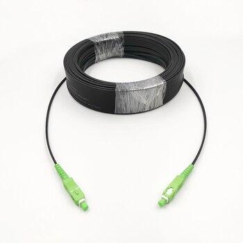 SC/APC-SC/APC Outdoor Drop Cable SC APC Singlemode SM Simplex FTTH Patch Fiber Optic Jumper 10M-50M - discount item  9% OFF Communication Equipment