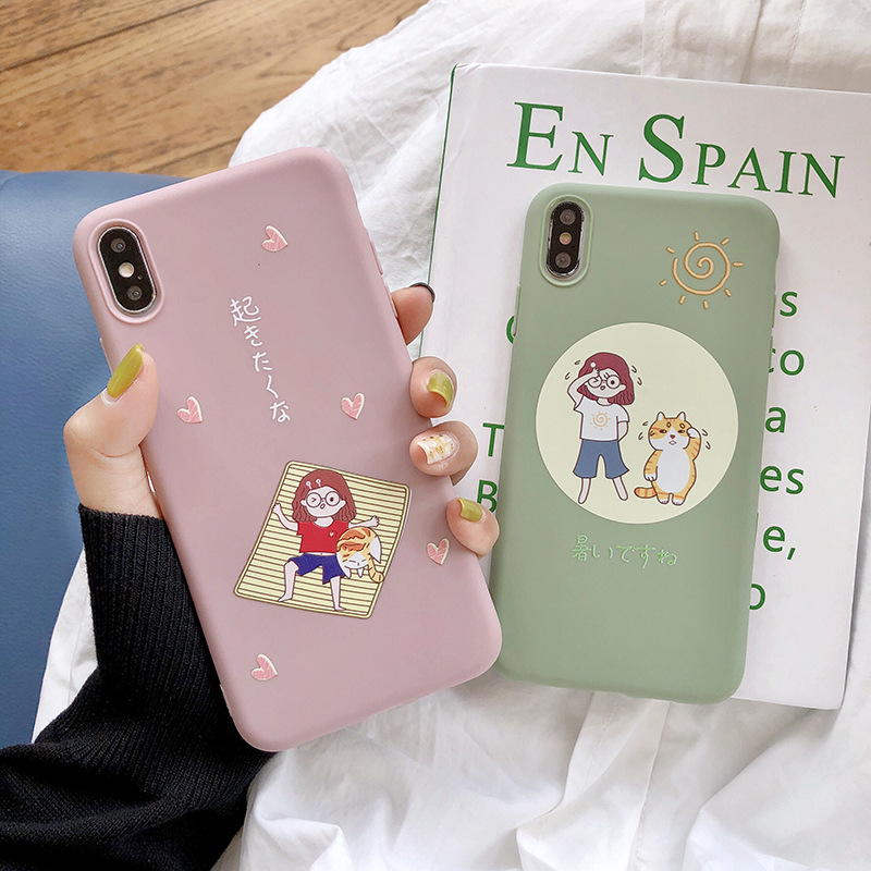 Cool Cartoon Phone Case Cover For iPhone X XR 6 6s plus Cute Protective Phone case For iPhone Xs Max 7 8 plus
