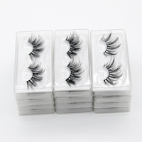 DamePapil 50/100 Pairs Faux Mink Lashes Bulk Wholesale Long False Eyelash for Makeup Various Styles Beauty 25mm Fake Eyelashes