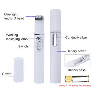 Image 4 - Blue Light Laser Pen Scar Acne Removal Anti Wrinkle Aging Therapy Acne Treatment Pen Beauty Device Facial Beauty Tools