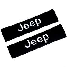 Стиль автомобильной плеча защитный рукав покрытие ремня безопасности оболочка подходит для Jeep JAGUAR Удобная креативная Мода