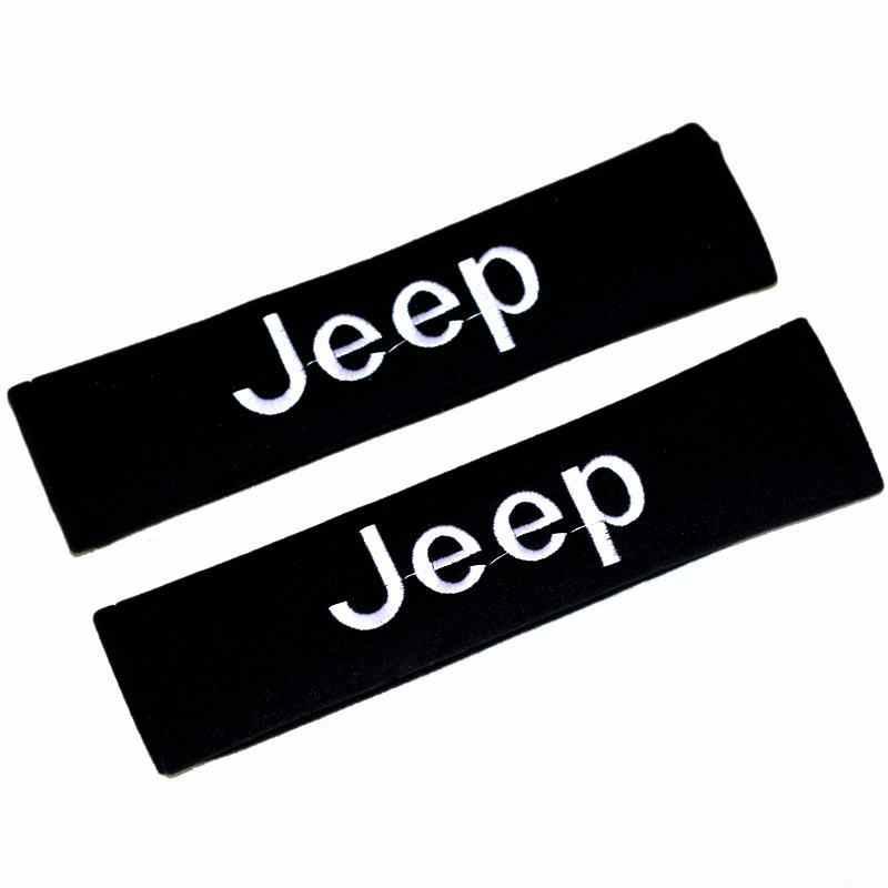 新スタイル自動車肩保護スリーブ安全ベルトカバーシースのための適切なジープジャガー快適創造ファッション