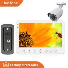Jeatone 7 ''интерком для дома hd проводной видео дверной