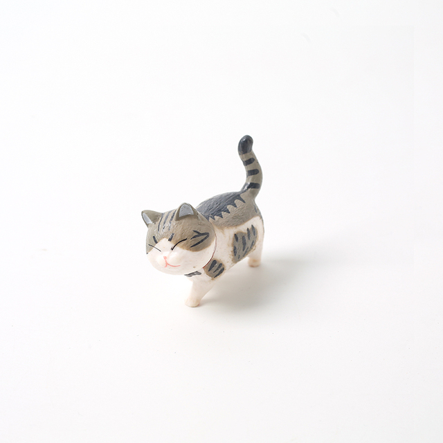 Lovely Cat Ornaments Creative Girl Ornaments Student Personality Home Decoration Accessories Desktop Model Birthday Gif 6