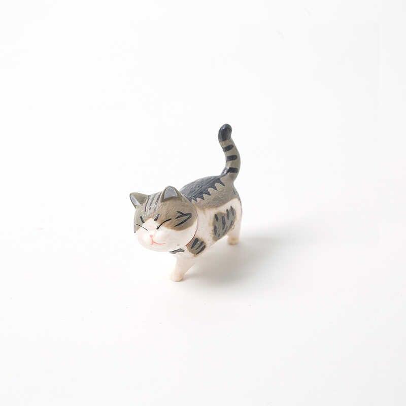 Schöne Katze Ornamente Kreative Mädchen Ornamente Student Persönlichkeit Hause Dekoration Zubehör Desktop Modell Geburtstag Gif