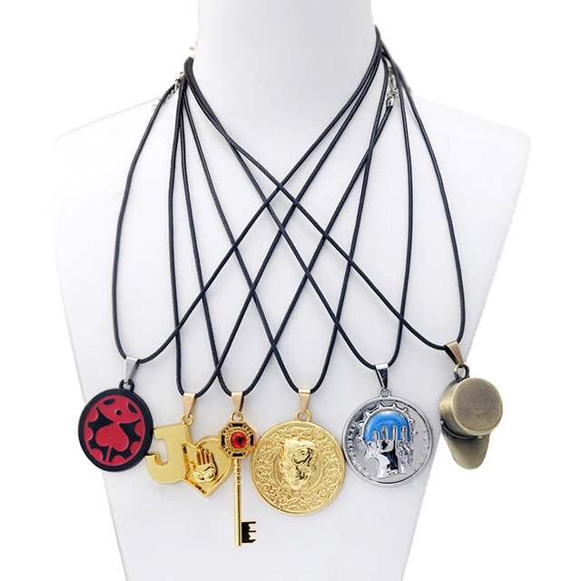 Anime JOJOS BIZARRE ADVENTURE Keychain Mask DIO Metal KILLER QUEEN Keyring Holder Higashikata Josuke Women Men Jewelry llaveros 2