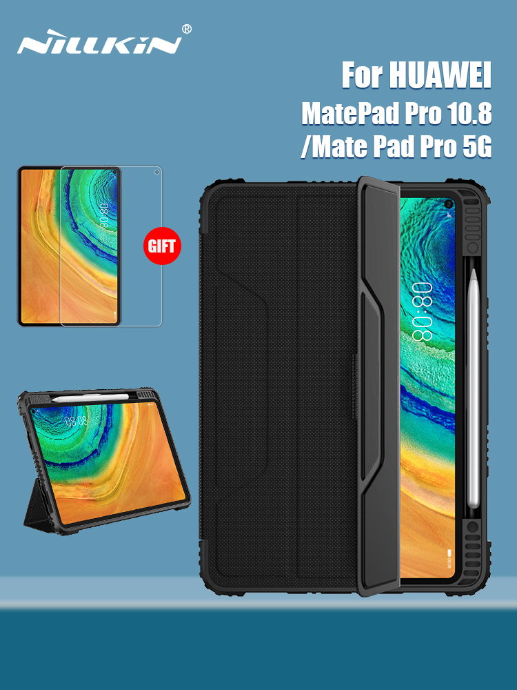 NILLKIN Mate-Pad Flip-Cover Pro-Case Huawei Magnetic for PC 5G