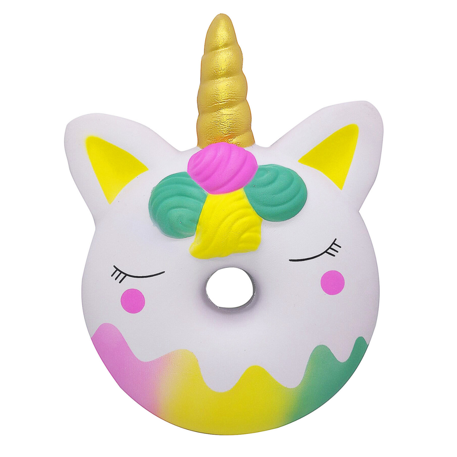 Squishy Kawaii Gigantes Soft Squeeze Toys Squishy Oversized Slow Rebound Decompression Vent Toy Donut Good Gift For ChildrenW802