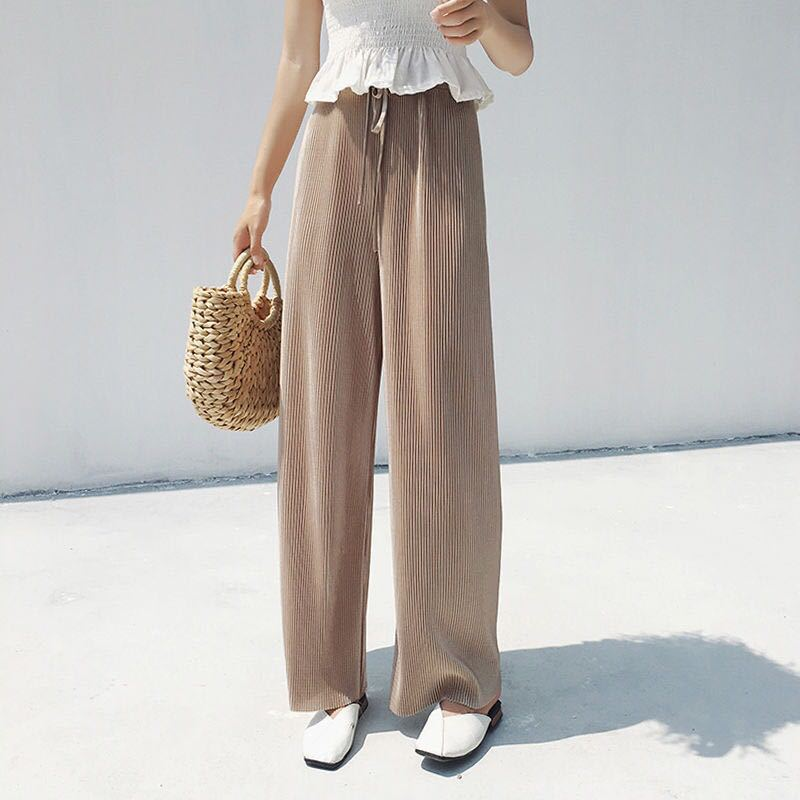 1-2 [Support] AliExpress Viscose Loose Pants Summer Thin Section Capri Pants Leggings