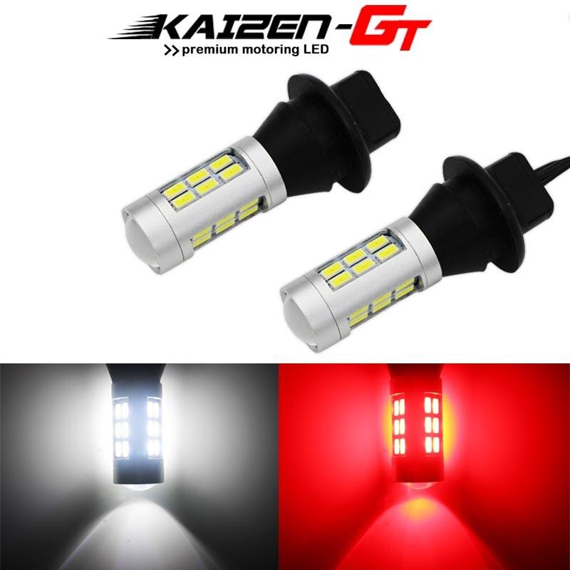 Brake Light Lawn Mower CANBUS Error Free DRL Lights 1156 LED Bulbs ...