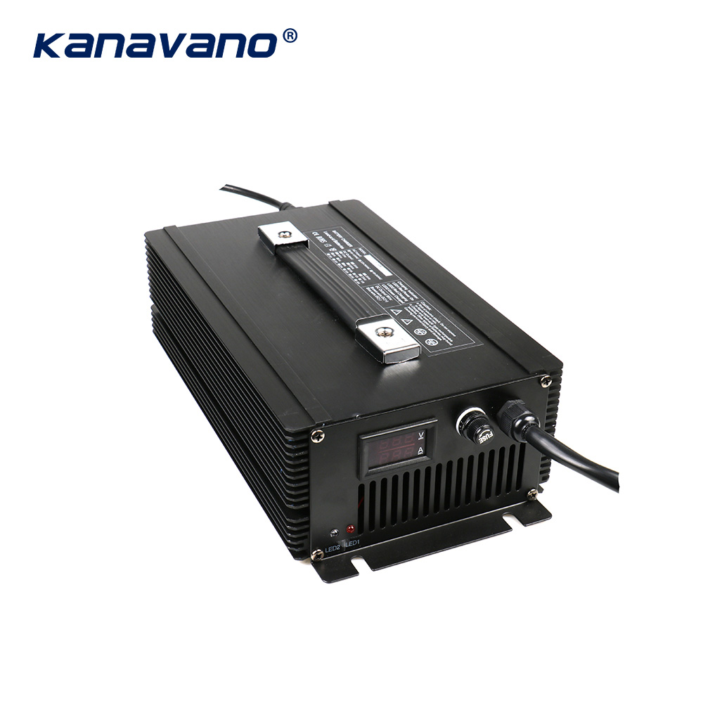 Kanavano nach maß 12v 80a 12,6 V 80A 14,6 V 80A 24V 50A batterie ladegerät 4Serie 1500w für lithium batterie Blei Säure LiFePO4 - 6