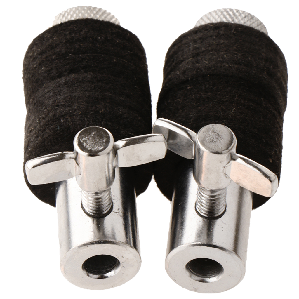 2 Pieces Metal Clutch For Hi Hat Cymbal Stand Drum Set Kit Accessory