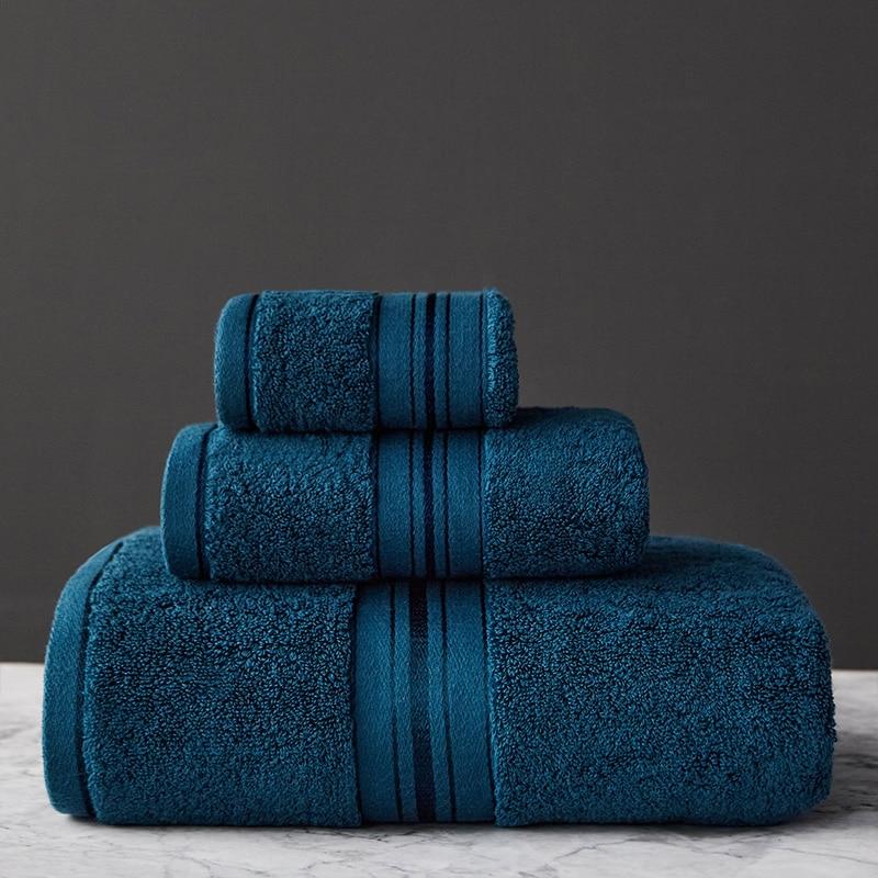 Egyptian Cotton Towel Set Bath Towel And Face Towel Can Single Choice Bathroom Towel Travel Sports Towels