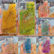 Liquid Sand Phone Case For iphone 11Pro X XR XS Max 6 6S 7 8 Plus Cover TPU Glitter Quicksand Dynamic Silicone Soft