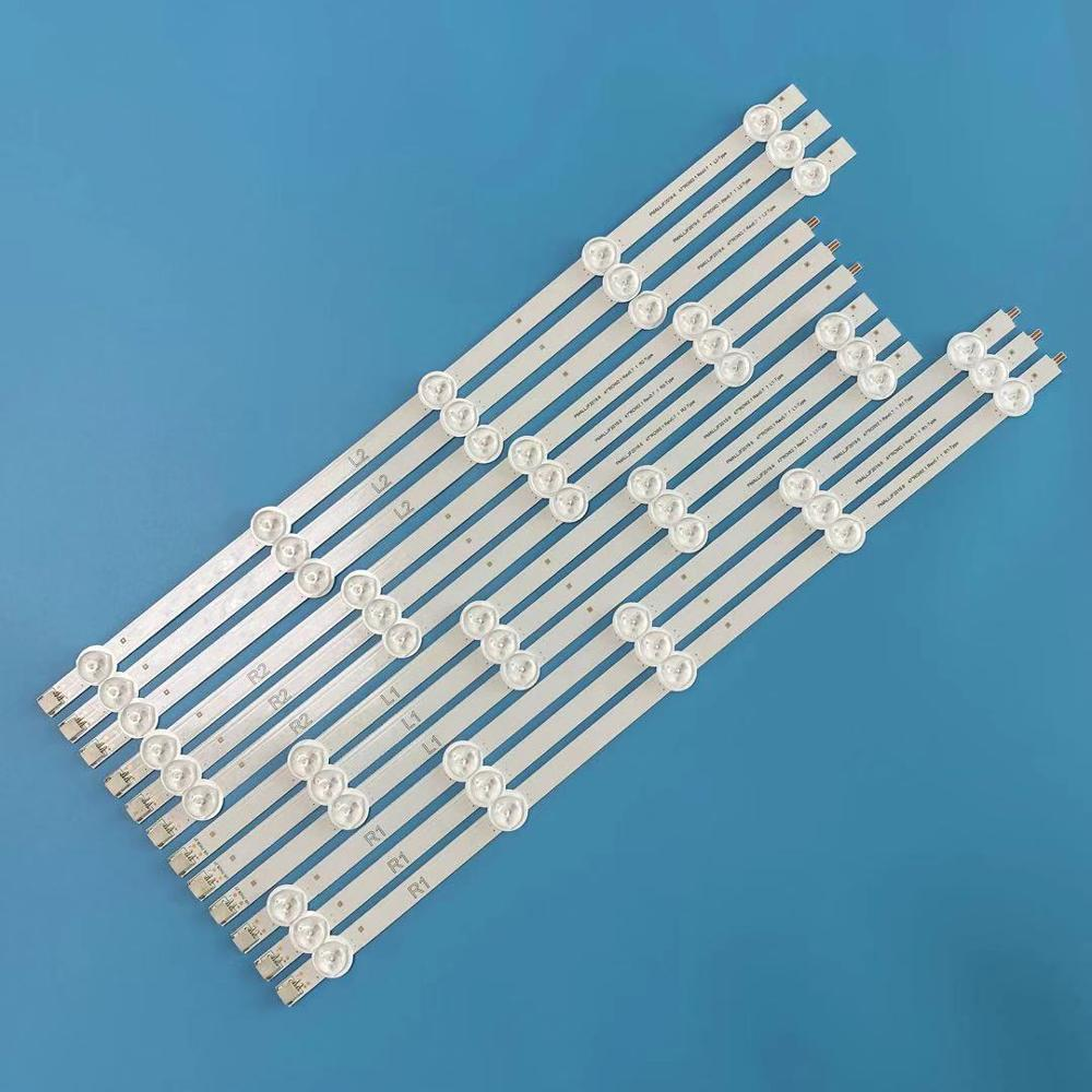 12Pcs 47 LED Strips Bars for LG 47LN5400 CN 47LP360C CA 47LN519C CC 47LN5790 47LN5750 47LN5700 47LN5200Remote Controls   -