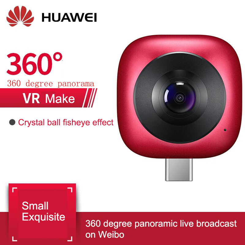 Original Huawei 360 Panoramic Camera Lens Envizion Hd 360 Degree Wide Angle 3D Live Motion Camera Android Mobile Phone External