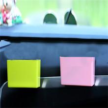 Auto wylot wentylacyjny Vuilnis Doos plastikowe Auto Mobiele telefon Houder Opbergtas organizator Auto Opknoping Box Auto stylizacja tanie tanio INSEET CN (pochodzenie) Wall-mounted mobile phone storage box plastic