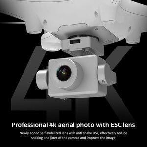 Image 2 - Cuadricóptero con cámara de cardán de dos ejes 4K, GPS, HD, 5G, WIFI, Motor sin escobillas, tarjeta SD, profesional, 30 minutos de vuelo, VS X35
