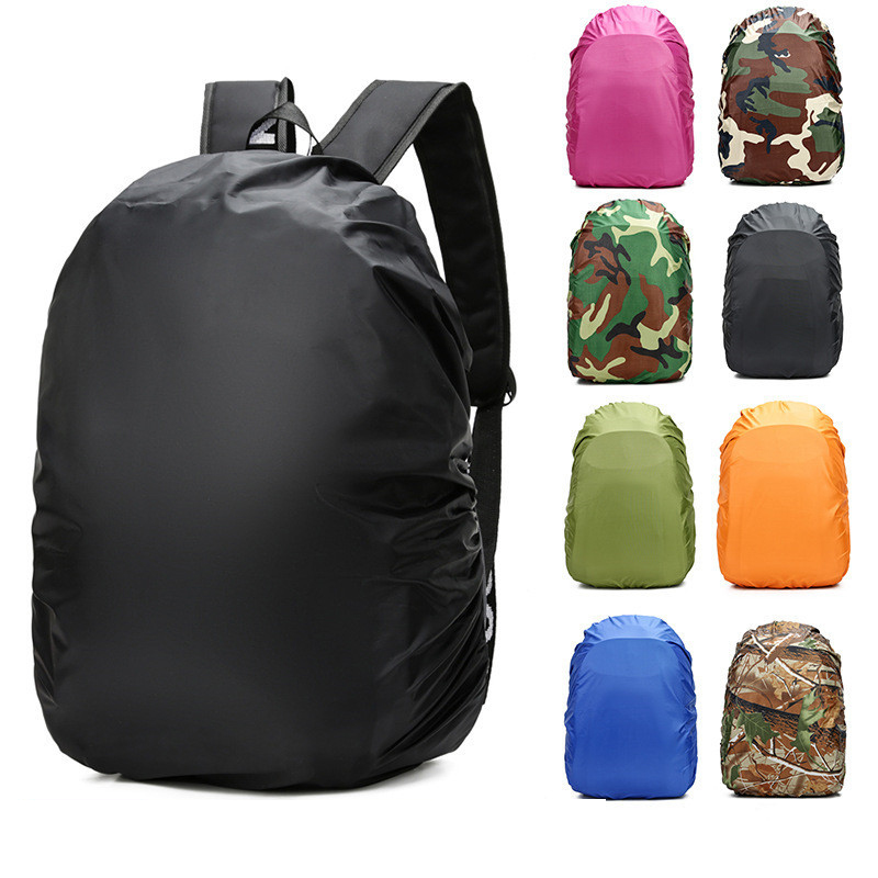 Waterproof Bagpack Cover Bag Travel Accessories Camping Hiking Outdoor Fold Cover Rucksack Shopper Suitable Luggage Cover Dust