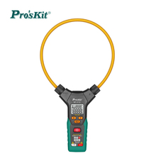 Smart True RMS Flex Clamp Meter Dual Display Test 0.1A-3000A Auto Range current clamp pliers ammeter ticks multimeter