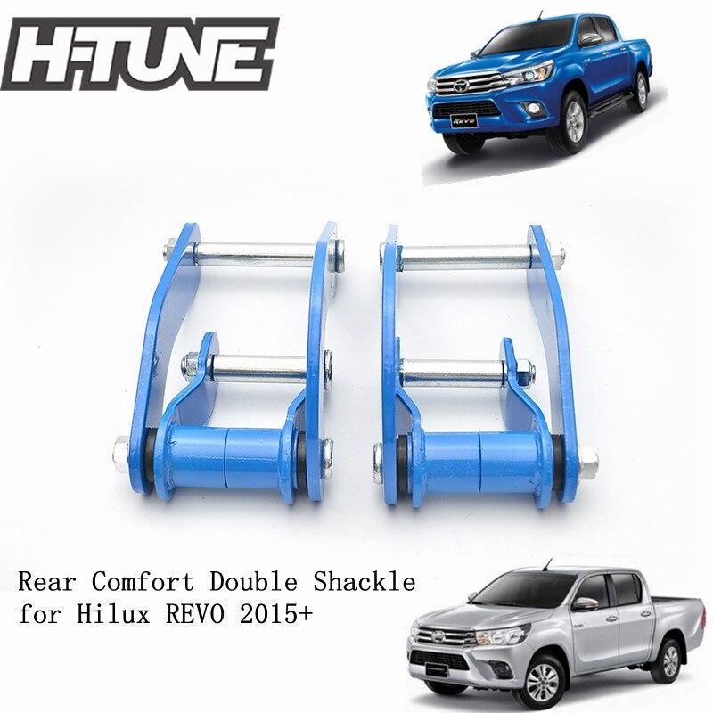 H-TUNE 4x4 ressort de Suspension arrière confort Double G-manilles pour Hilux REVO 2015 +