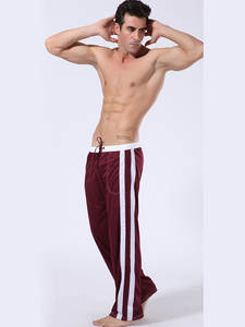 Pajamas Men Underwear Trousers Nightgown Lounge Home-Pants Homme Loose Men's