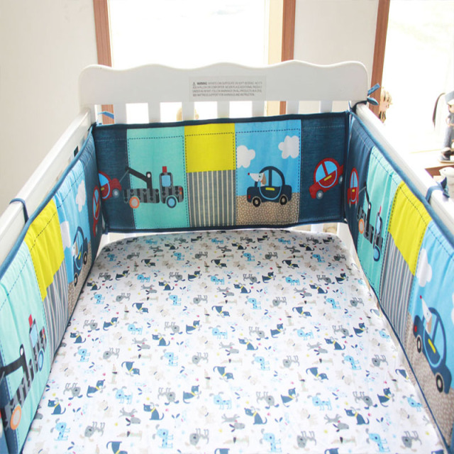 4PCS/Set Cotton Nursery Bedding Set