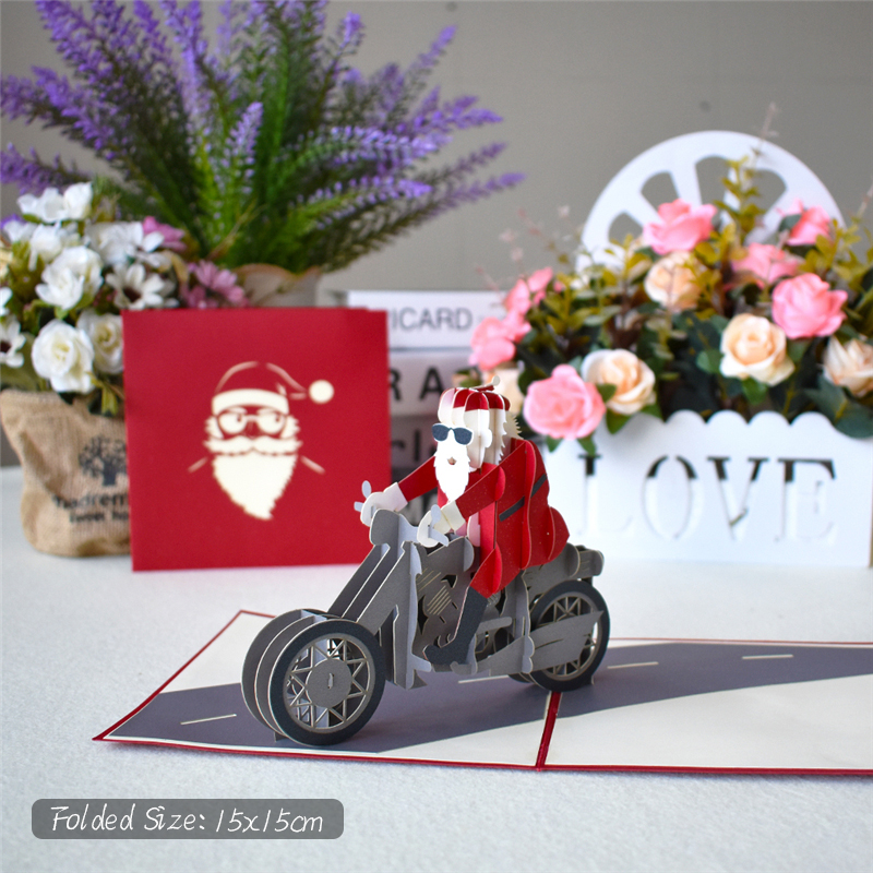 Merry Christmas 3D Pop UP Cards
