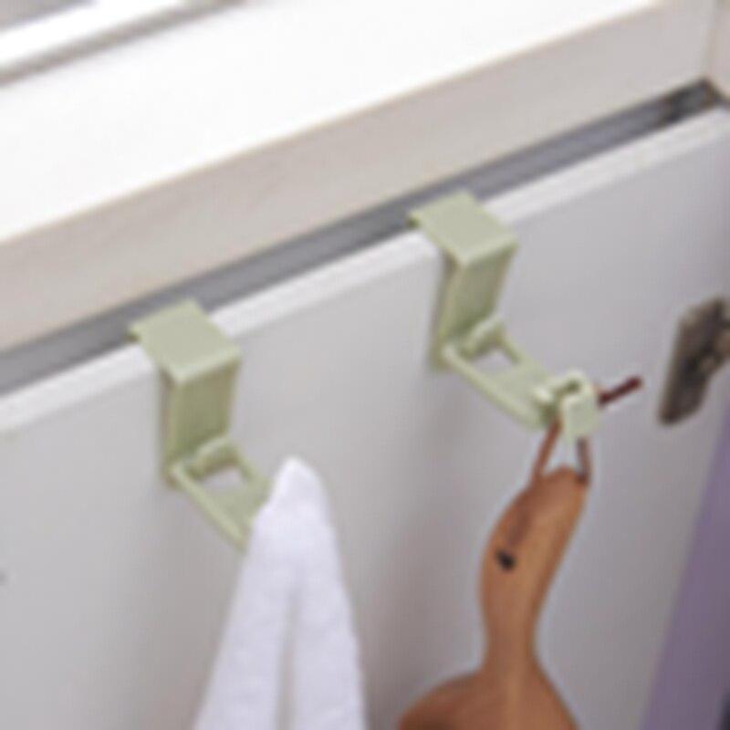 Kitchen Cabinet Bags Hooks Trash Garbage Bag Hanger Cupboard Door Hanging Rack Holder For Storage Bag Kitchen Accessories