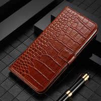 Кожаный защитный флип-чехол для мобильного телефона чехол для Nokia Lumia 1,3 2,1 2,2 2,3 3 3,1 3,2 4,2 5 5,1 6 6,2 7 7,1 7,2 8 8,1 плюс 8,3 9 Чехол кошелек из крокодиловой ...