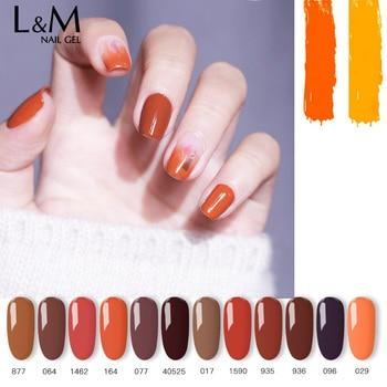 ibdgel 12pcs/set Carnelian Color Series UV LED Hight quality Nails Gel Polish soak off Glue Art beauty long-lasting