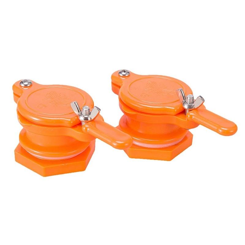 Pack of 2 Honey Gate Valve Extractor Tap Beekeeping Equipment Tool
