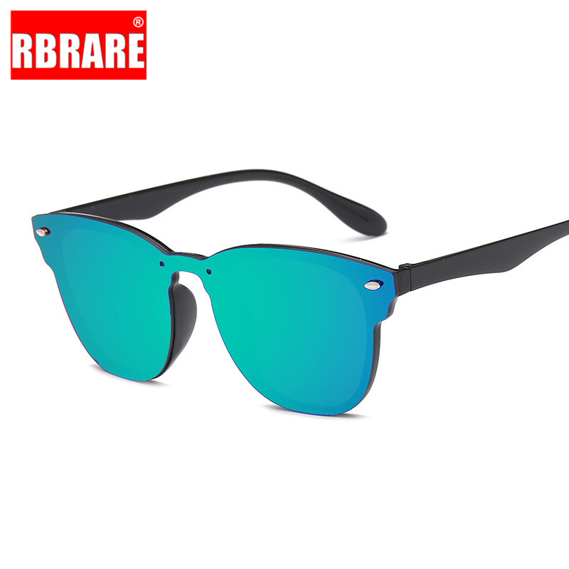 RBRARE Designer Sunglasses Women 2019 High Quality Mirror Luxury Sunglasses Women Square Vintage Sunglasses Women Siamese Oculos in Women 39 s Sunglasses from Apparel Accessories