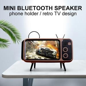 TV Style Retro Bluetooth Speaker Stereo