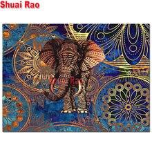 5d diy Алмазная картина полностью квадратная/круглая дрель индийская
