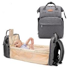 Duża pojemność torba na pieluchy plecak wodoodporna torba macierzyńska torby na pieluchy dla niemowląt z interfejsem USB mumia torba podróżna na wózek tanie tanio CN (pochodzenie) NYLON zipper 20cm GDS5024 30cm 40cm Animal prints