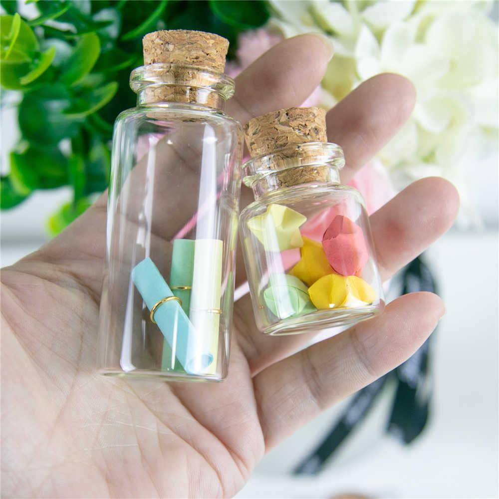 10 ml, 15 ml, 20 ml, 25 ml, 30 ml, 40 ml, botellas de vidrio con corcho, botellas vacías, frascos artesanales, 50 uds, envío gratis