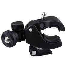 For Gopro Mount Bike Bicycle Motorcycle Handlebar Clamp for gopro Camera Mount Tripod Adapter For Gopro Hero 2 3 3+ 4 5 toz professional aluminum bicycle mount clip for gopro hero 4 2 3 3 golden