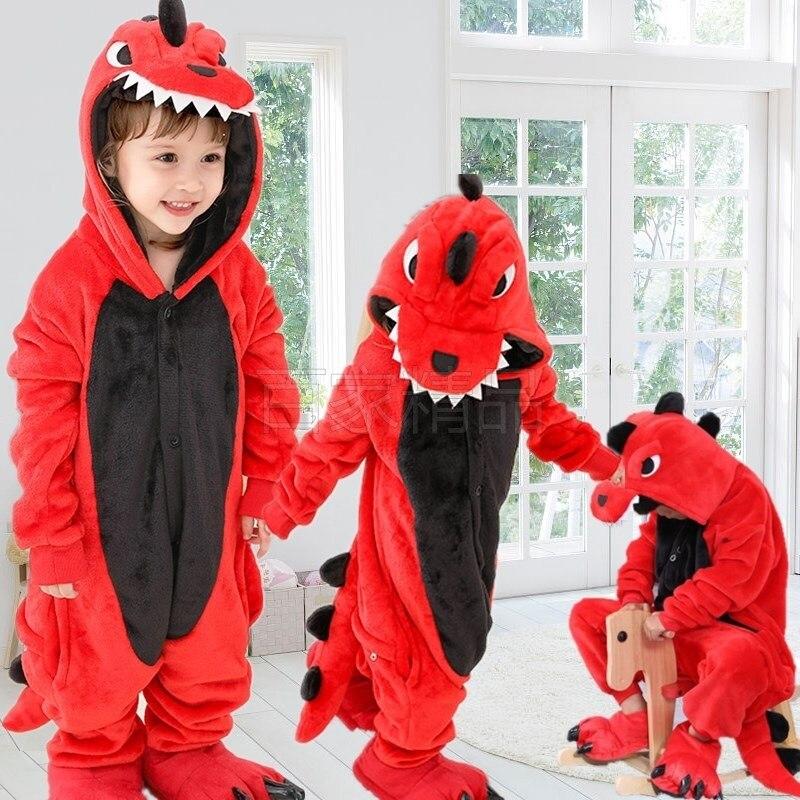Toddler Boy Clothes Dinosaur Pajamas Set Animal Cartoon Kids Clothes Winter Flannel Stitch Pajama Baby Sleepwear For Boys Pajama