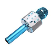 KTV Wireless Karaoke Handheld Microphone USB Player Mic Speaker Portable Christmas Birtay