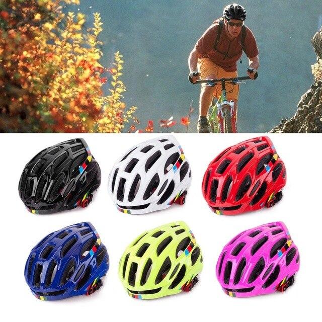 Ventilação suave Homens Mulheres Capacete Da Bicicleta Capacetes de Bicicleta Respirável Back Light Integralmente-moldado Capacetes de Ciclismo de Estrada de Montanha MTB 4