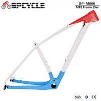 Spcycle T1000 Full Carbon MTB Frame 27.5er 29er Ultralight Mountain Bike Carbon Frame PF30 Size 15/17/19/21 2 Year Warranty