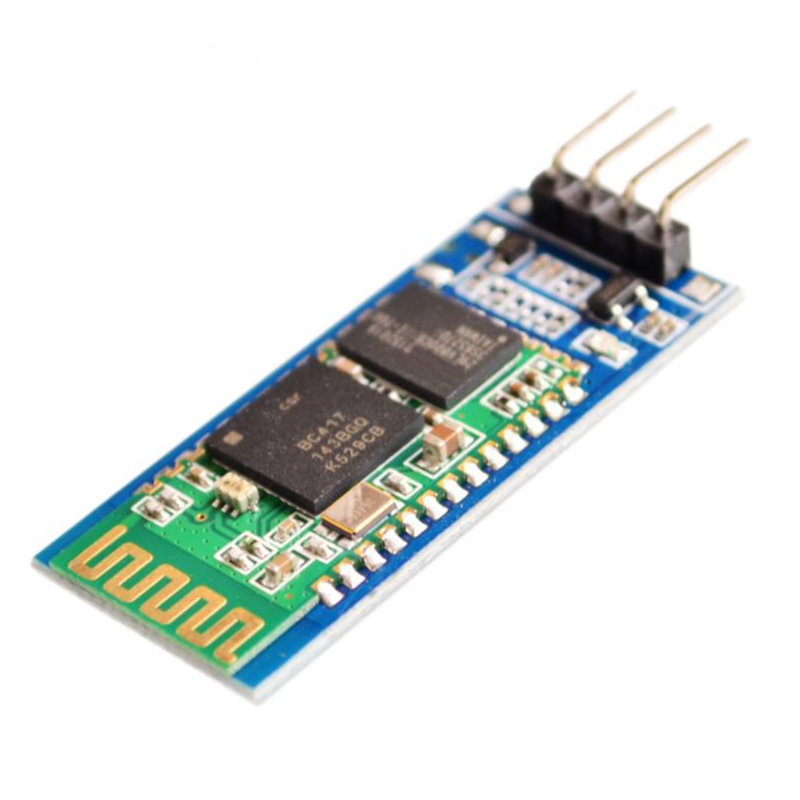 1PCS HC06 <font><b>HC</b></font>-<font><b>06</b></font> Wireless Serial 4 Pin RF Transceiver RS232 TTL Bluetooth Module Plug-in for arduino image