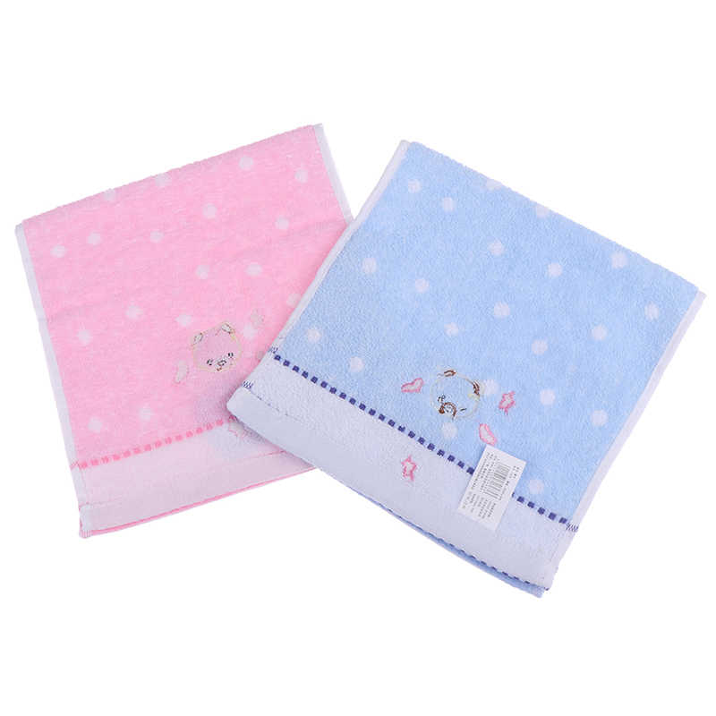 De alta calidad 25*50cm toalla para bebé de algodón Oso de dibujos animados bebé pañuelo de tela niños alimentación paño de limpieza toalla