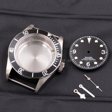 Watch-Case Corgeut Dial Eta 2824 Bezel Movement Hand-Fit Miyota 8215 Sapphire Stainless-Steel